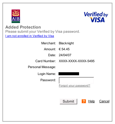 pagina verified by visa