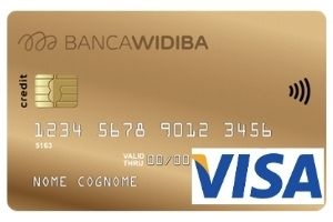 carta visa gold widiba