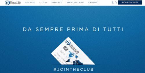 esempio carte diners club