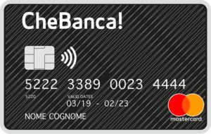 esempio carta di credito chebanca