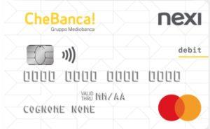 carta di debito international