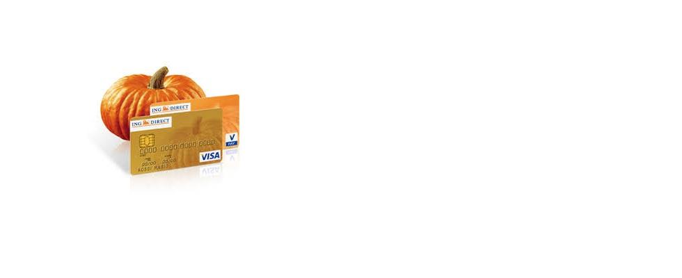 Carta Visa Oro di conto Arancio