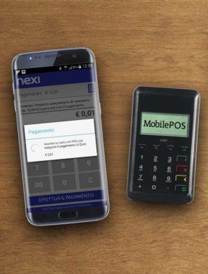 esempio pagamento con smartphone con pos mobile samsung