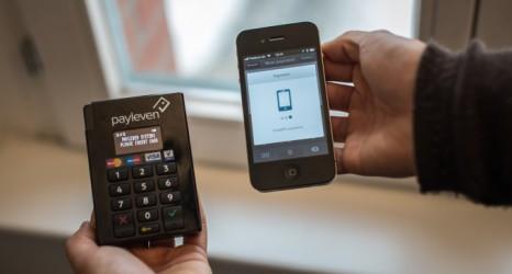 esempio di pagamento su pos mobile
