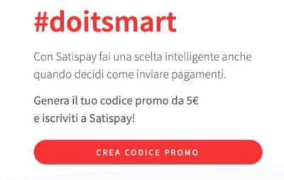 promozione satispay