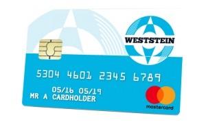esempio weststeincard