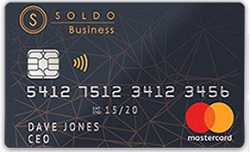 carta soldo black business mastercard