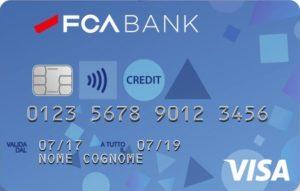esempio di carta di credito fca bank