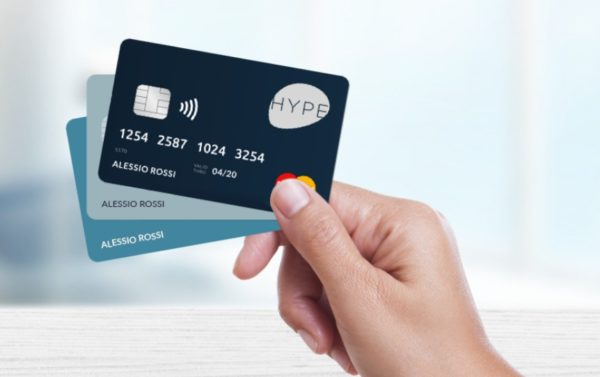 vantaggi hype wallet se si utilizzano carte prepagate hype