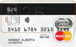 carta di debito n26