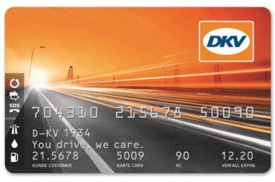 carta carburante dvk card