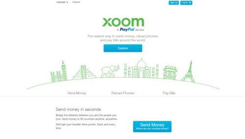 home page sito xoom