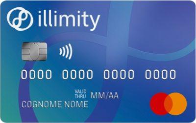 esempio grafica carta di credito illiity bank