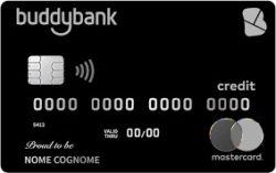 carta di credito buddybank