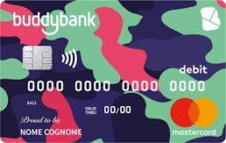 carta di debito buddybank