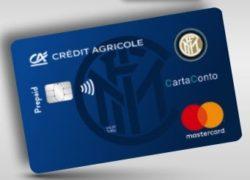 carta prepagata grafica inter credit agricole