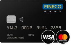 carta fineco visa
