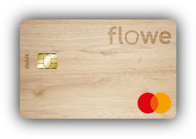 carta legno flowe mastercard