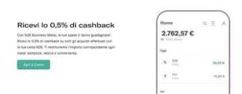 cashback n26 business metal