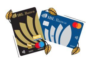 esempi di carte di debito ibl